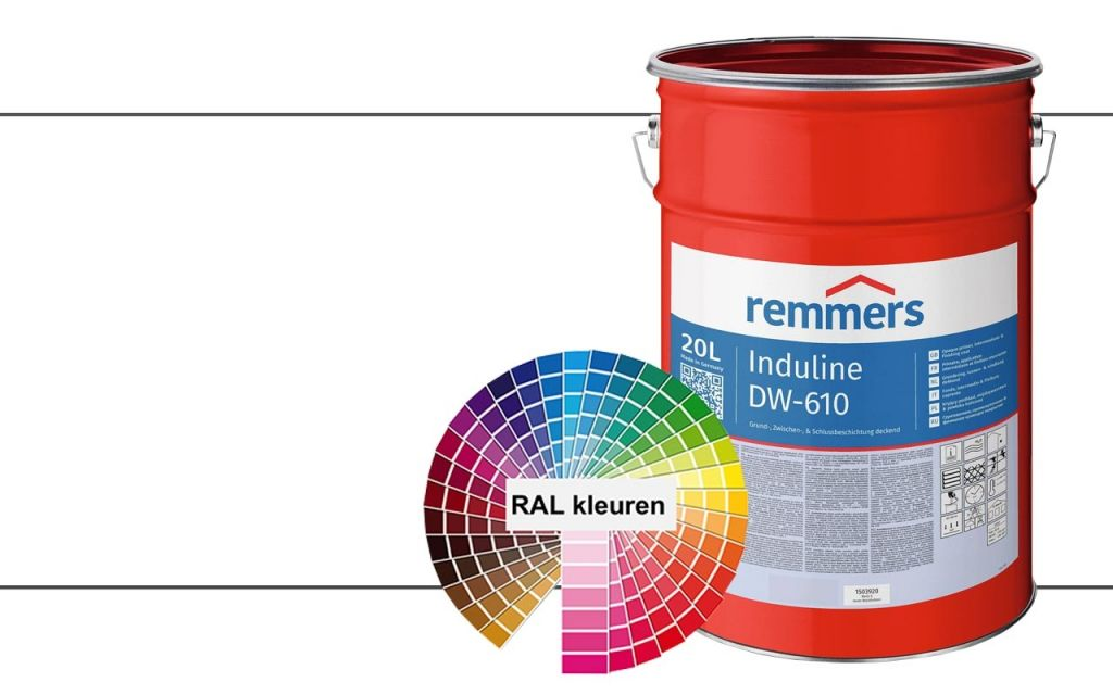 Induline DW-610 RAL Kleuren