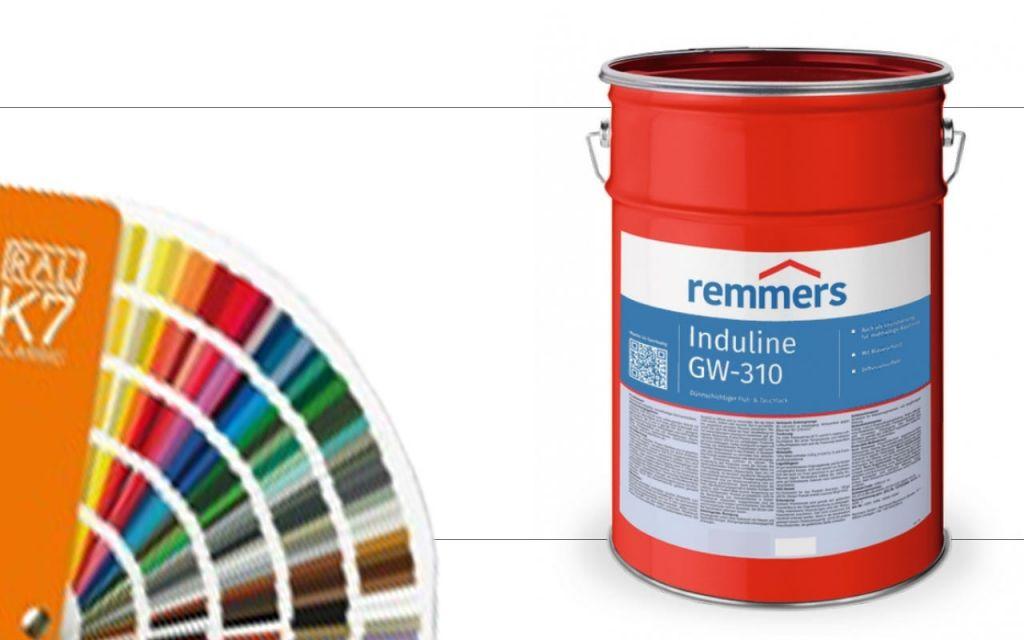 Induline GW-310 RAL Kleuren